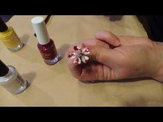 Orecchini cialde nespresso e smalto per le unghie - YouTube