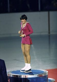 Dorothy Hamill...everyone wanted her haircut.  I HAD it!