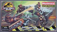 Kenner Jurassic Park: The Lost World Humvee Vehicle 1997