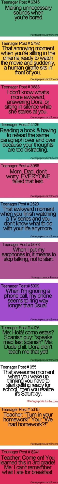 28 ideas funny teenager posts so true lol hilarious Teenager Quotes, Teen Quotes, Teenager Posts Lol, Funny Memes, Hilarious, Jokes, Funny Fails, Beth Moore, Teen Life