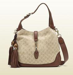 new jackie sand colour fabric shoulder bag