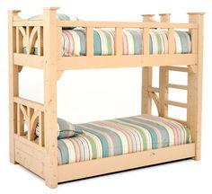 Barnwood Bunk Bed
