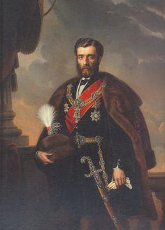 Prince Mihailo Obrenovic of Serbia