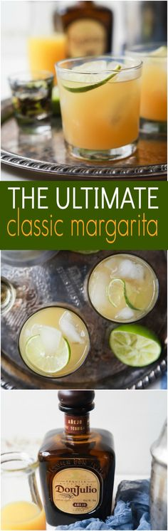 Making the Ultimate Margarita Recipe is easier than you think, only 5 ingredients and you're in Margarita Heaven! It's a winner every time! Ultimate Margarita Recipe, Pitcher Margarita Recipe, Easy Margarita Recipe, Classic Margarita Recipe, Margarita Recipes, Margarita Drink, Fun Cocktails, Summer Drinks, Cocktail Drinks
