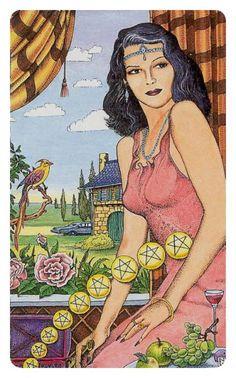 The Nine of Pentacles ✩ Cosmic Tarot