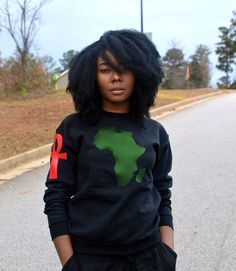 Africa, the birthplace of humanity and civilization. Nem Ankh, the Key of LifeA classic crew neck sweatshirt is an everyday essential, whether you're layering i