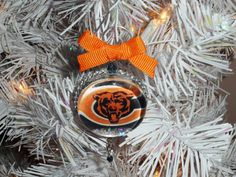 Chicago Bears ornament | Chicago, Ornament and Bears