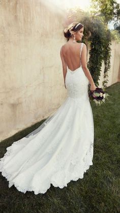 Dream dress with jewels connected in the back