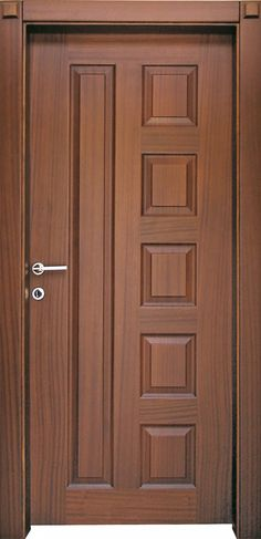 Top 50 Modern Wooden Door Design Ideas You Want To Choose Them For Your Home - E. - Wood doors interior - Top 50 Modern Wooden Door Design Ideas You Want To Choose Them For Your Home – Engineering Discov - House Main Door Design, Single Door Design, Home Door Design, Wooden Front Door Design, Door Gate Design, Wooden Front Doors, Door Design Interior, Double Door Design, Main Entrance Door Design