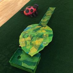 "My mini-golf hole for the #unitedway's Masters Comes to Massillon at @MassMu based on #EricCarle's ""Grouchy Ladybug"". #wip #workinprogress #minigolf"