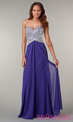 Long Prom Dress Style: JZ-1132 Detail Image 1