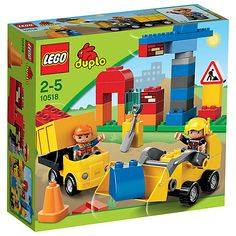 Buy LEGO Duplo My First Construction Site Set Online at johnlewis.com - F £14.99