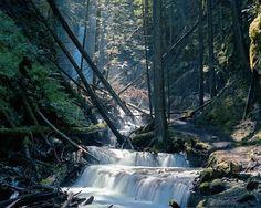 Margaret Falls, off Shuswap Lake