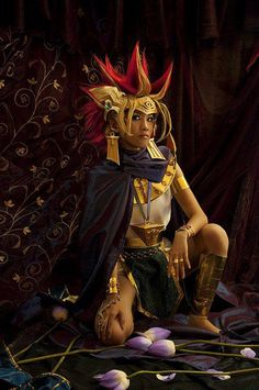 Atem by imino Epic Cosplay, Amazing Cosplay, Anime Cosplay, Cosplay Ideas, 2017 Cosplay, Fullmetal Alchemist, Halloween Cosplay, Cosplay Costumes, Live Action Film