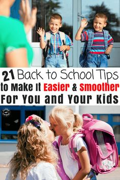 How to Make Back to School Easier for You and Your Kids Kindergarten Readiness, School Readiness, Back To School Hacks, School Fun, School Tips, Kids Up, Our Kids, The Kissing Hand, Little Doll