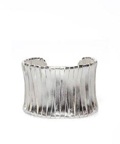 Susanne Cuff Bracelet - Silver