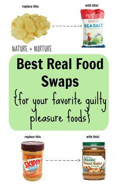 Best Real Food Swaps