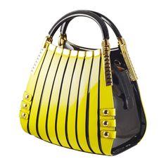 Yellow Medium Lattice Calfskin Leather Handbag – The Passionate Collector