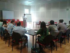 Con emprendedores en As Pontes (Coruña)