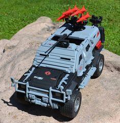 cobra arctic stinger jeep | G.I. Joe Combat Cruiser Converted Into Custom Cobra ...