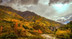 This is the shotover river in Queenstown it is an HDR shot retouched with Aurora HDR. I really love those autumn colors May is the best month to shoot those tones. Where is your favorite place to shoot autumn landscapes?  #photoserge #landscape #view #autumn #mountains #sky #HDR #auroraHDR #tones
