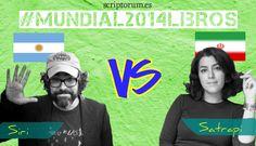 El mundial se juega en Scriptorum; hoy, una clásica, Argentina, enfrenta la sutileza de Ricardo Siri, Liniers a la crudeza persa de Marjane Satrapi.  http://scriptorum.es/blog/mundial-argentina- iran/