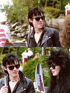 Andrew Eldritch & Patricia Morrison - The Sisters Of Mercy Patricia Morrison, Andrew Eldritch, Punk Fashion, Fashion Teens, Lolita Fashion, Fashion Dresses, Hipster Accessories, Goth Bands, Goth Music