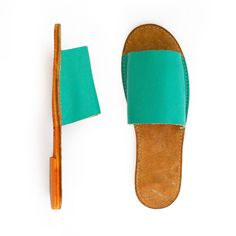 ¡New Folk collection! Leather Sandals by cueropapelytijera