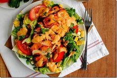 Chipotle mango chicken salad