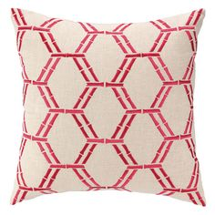 I pinned this Bamboo Pillow in Pink from the Preppy & Plush event at Joss and Main!