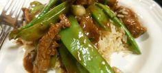 Aziatische beef met peultjes - Koolhydraatarmerecepten.info
