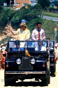 Princess Diana and Prince Charles in Australia During the Bicentenary Celebrations -Arriving at Gosford, New South Wales