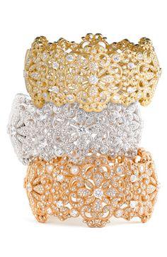 Nadri Filigree Cuff Bracelet