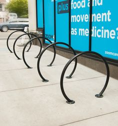 Sol bike racks by Huntco