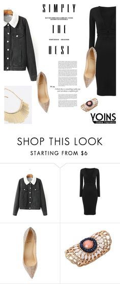 """""""Yoins #36 (http://yoins.me/1PrM4be)"""" by antemore-765 ❤ liked on Polyvore featuring women's clothing, women's fashion, women, female, woman, misses and juniors"""