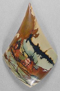 I love his work cherry creek jasper cab Silverhawk's designer gemstones. I love his work Minerals And Gemstones, Rocks And Minerals, Natural Gemstones, Stones And Crystals, Gem Stones, Story Stones, Beautiful Rocks, Mineral Stone, Rocks And Gems