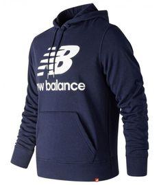 250d540514e Sudadera New Balance Essentials Stacked Logo Po Hoodie Hombre Pigmento.  Shed Marks · Ropa de montaña