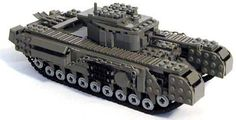 Awesome LEGO Tank from Mechanized Bricks, Churchill VII