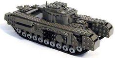 Awesome LEGO Tank from Mechanized Bricks, Churchill VII
