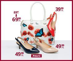 Her yaz içimizde kelebekler uçuşur :) #fashion #fashionable #style #stylish #polaris #polarisayakkabi #shoe #shoelover #ayakkabı #shop #shopping #women #womanfashion #moda #womenstyle #topukluayakkabı #şıklık #zarafet #stil #çanta #bag #colorful #rengarenk