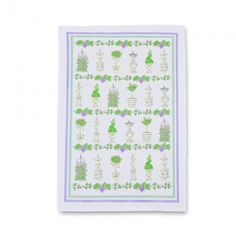 0ee0d6aecb3f0 Exclusive Milly Green maze tea towel Milly Green