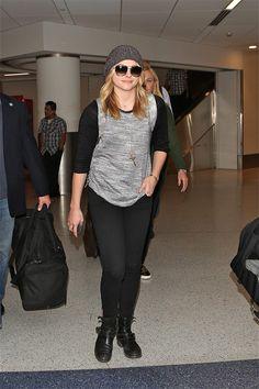 Chloe Grace Moretz at  LAX airport October 25, 2014