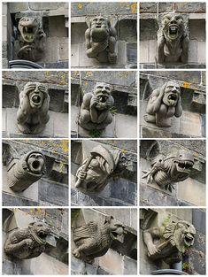 Gargoyles of Paisley Abbey
