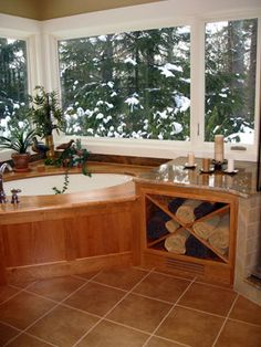 bathroom for my house in the mountains