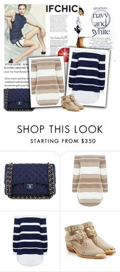 """""""Ifchic"""" by beenabloss ❤ liked on Polyvore featuring Chanel, 3x1, 10 Crosby Derek Lam, Balmain and ifchic"""