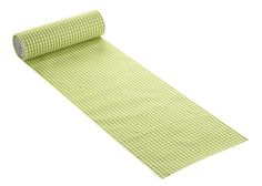 Grünes karo #Tischband für Deine grüne Tischdekoraion: http://www.trendmarkt24.de/karo-tischband-hellgruen-20-cm-breit-meterware-je-m.html#p