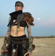 Post-apocalyptic costume inspiration perfect for Mad Max fans. Witness!