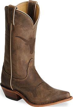 Nocona Texas Longhorns College Boots
