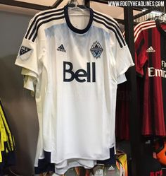 Vancouver Whitecaps FC 2015 Home Jersey Leaked - Footy Headlines Vancouver  Whitecaps Fc 11529e984