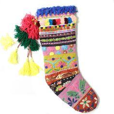 Boheme Stitch Stocking